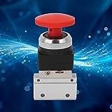 Válvula mecánica de aire MOV-03EB, válvula mecánica MOV, estructura estable de aleación de aluminio de 2 vías para sistemas neumáticos