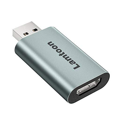 LamToon HDMI Video Capture Card, US…