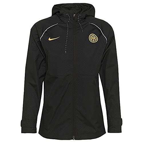 NIKE 2021-2022 Inter Milan AWF Chaqueta ligera (negro)
