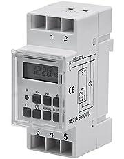 PoloMar Digitale timer weekplanning DIN-rail schakelbord DIN 16A 3600W 230V