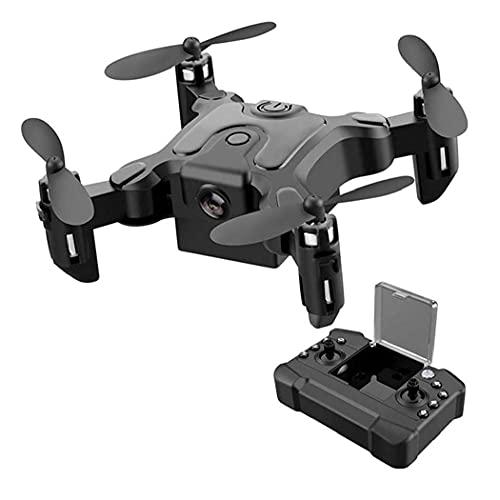 GZTYLQQ Mini Drone Pieghevole con Fotocamera Compatibile con Quadricottero Tascabile per Bambini con Fotocamera Telecomando WiFi Smart Follow Drone a Volo Lungo Principiante