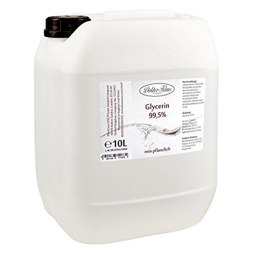 Glycerin 99.5% von Doktor Klaus im 10 Liter HDPE Kanister.