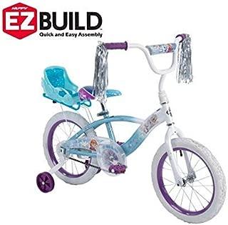 huffy disney frozen 16 ez build girls bike