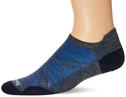 Smartwool PhD Run Ultra Light Micro Medium Gray MD (Men's Shoe 6-8.5)
