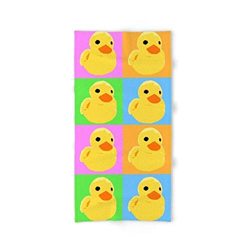 xcvgcxcvasda Fuzzy Duck Quad Bath Towel 31.5