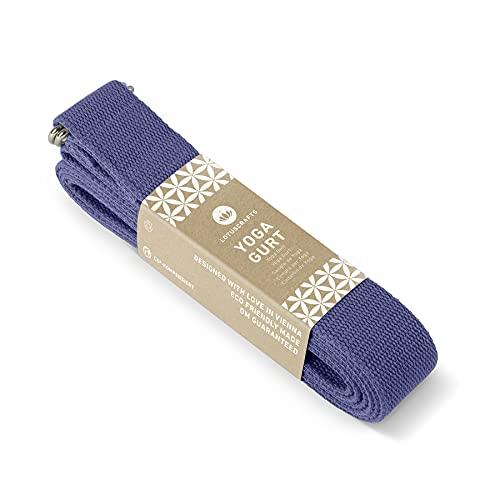 Lotuscrafts Yoga Cinturon Algodon - 100% Algodon (Cultivo Biológico) - Correa Yoga...