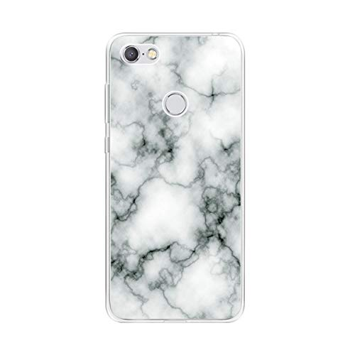 KJYF Schutzhülle Schale Marmor für TP-Link Neffos C9A (5.45