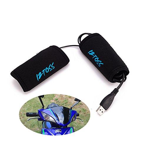 PIXNOR Motorrad Fahrrad Griffheizung Overgrips USB Elektrische