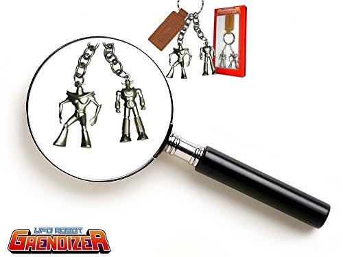 Goldorak - Porte-clés en métal - Etain et cuir - (High Dream)