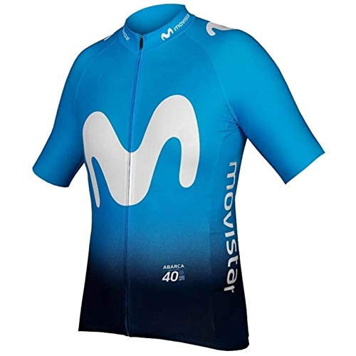 HappyL Team Radtrikot Fahrrad Maillot Atmungs MTB Kurzarm Fahrradkleidung Ropa Ciclismo (Color : Sunweb, Size : S)