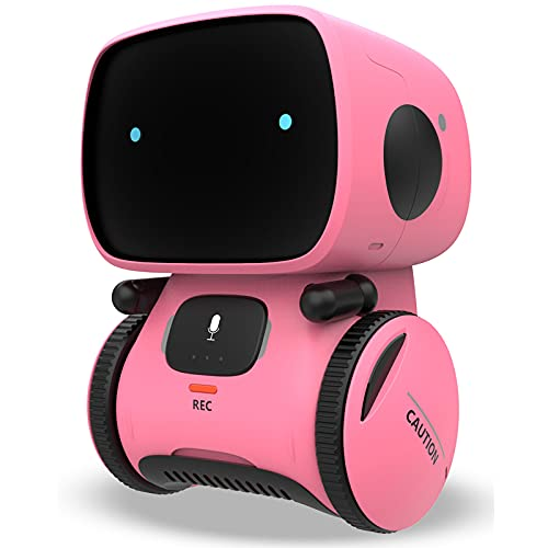 KaeKid Robots for Girls 3-5, Interactive Smart Robotic with Touch...
