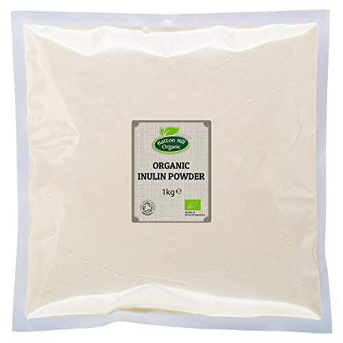 Organic Inulin Powder 1kg by Hatton Hill Organic - Free UK Delivery