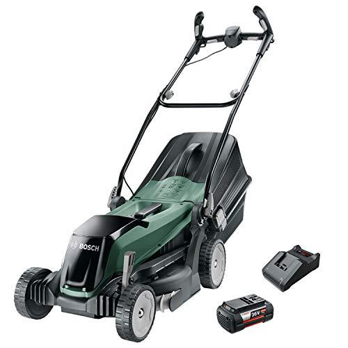Bosch Akku Rasenmäher EasyRotak 36-550 (36 V, 1 Akku 4,0 Ah, Schnittbreite: 37 cm, Rasenflächen bis 550 m2, im Karton)