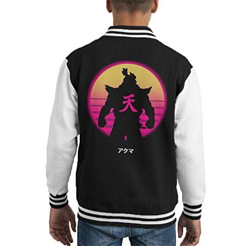 Cloud City 7 Dota 2 Demon Shadow Fiend Kid's Varsity Jacket