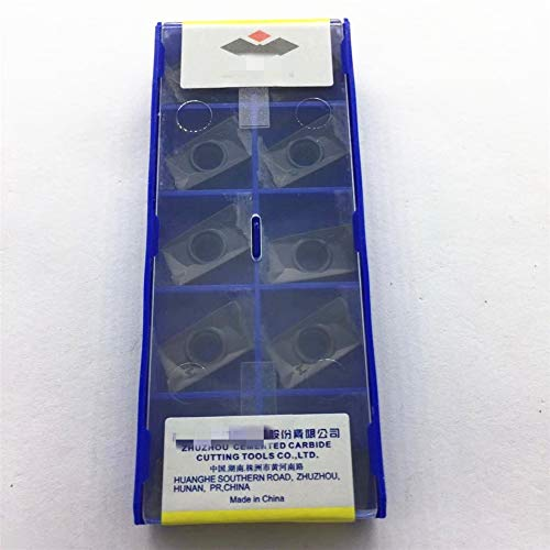 10Pcs (1pack) CNC Carbide Inserts APKT160408-PM YBG202