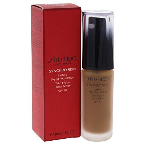 Shiseido Flüssige Foundation Synchro Skin Lasting G6 D110 SPF 20 30 ml, Preis/100 ml: 119.83 EUR