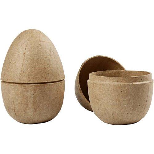 Creativ Zweiteiliges Ei, H: 12 cm, 2 Stck.