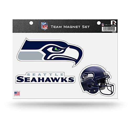 NFL Seattle Seahawks Die Cut Team Magnet Set Blatt