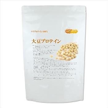 大豆プロテイン(国内製造)1kg ソイプロテイン100% 遺伝子組み換え不使用大豆 新規製法採用 [02] NICHIGA(ニチガ)