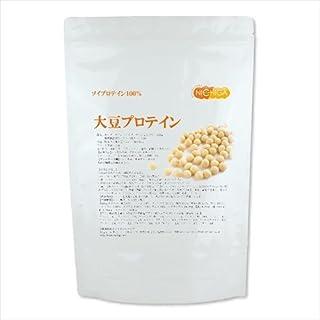 <New> 大豆プロテイン(国内製造)1kg 製品のリニューアル致しました ソイプロテイン100% [02] NICHIGA(ニチガ) 遺伝子組み換え不使用大豆 新規製法採用