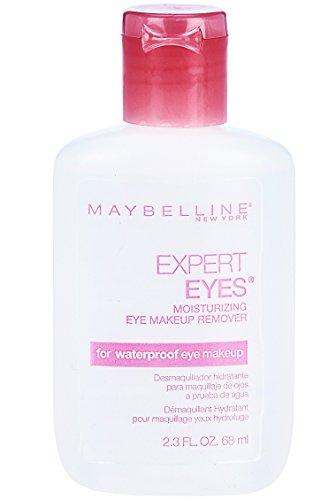 Maybelline New York Expert Eyes Moisturizing Eye Makeup Remover, For Waterproof Eye Makeup, 2.3 fl. oz.