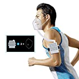 4WDKING Rechargeable Electrical Air Purifying Respirator, Reusable Portable Air Purifier with HEPA Filter