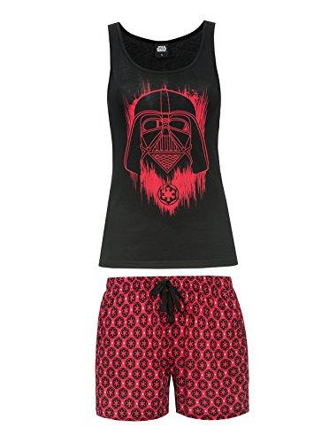 Star Wars Darth Vader Pyjama schwarz/rot XS