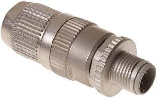 Circular Metric Connectors CIRCULAR CONNECTOR W. HARAX M12 L4 M