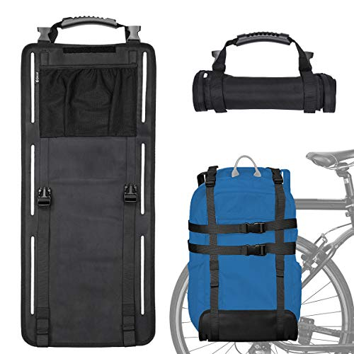 Epessa - Alforja portátil para maletero de bicicleta, portabicicletas