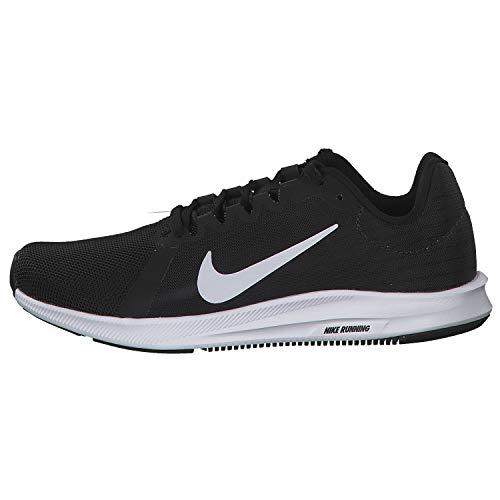 Nike Downshifter 8, Zapatillas de Correr Mujer, Negro (Black/White-Anthracite 001), 42.5 EU