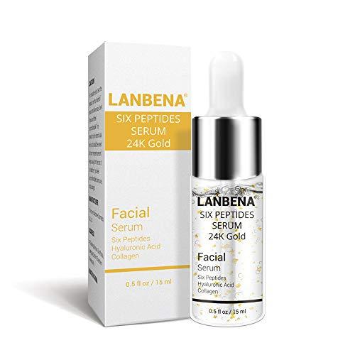 Schimer Crema Facial antienvejecimiento con Vitamina C para la Cara, Oro de 24 Quilates, antiedad, hidratante, ácido hialurónico, blanqueador, Brillo y Belleza