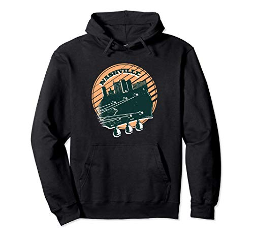 Nashville Country Musik Tennessee Gitarre USA Souvenir Pullover Hoodie