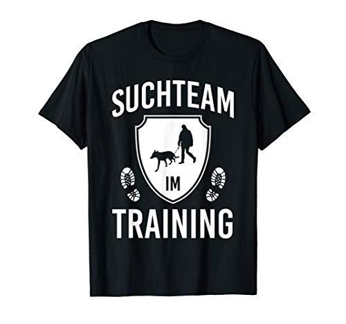 Mantrailing Personenspürhund Rettungshund Mantrailer T-Shirt