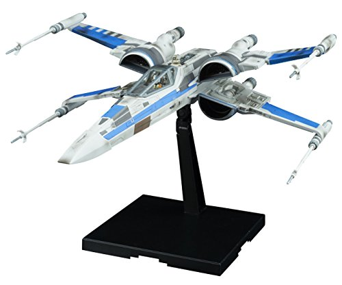 Bandai 1/72 X Wing Fighter RESISTANCE BLUE Company...