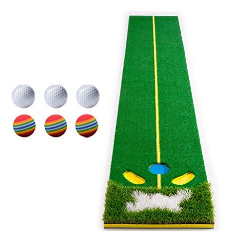 Best Price ZTJQD Indoor Golf Greens, Putter Trainer 48 X 300cm, Suitable for Home/Office