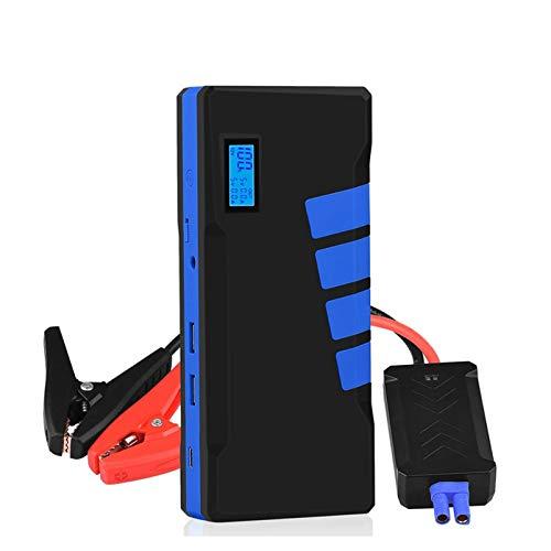 ZZBB 12v 20000mah Car Jump Starter Banco De Energía Amplificador De Batería Dispositivo De Carga De Arranque De Emergencia Cargador De Lanzador De Autos Arrancadores De Vehículos Cables De Litio,