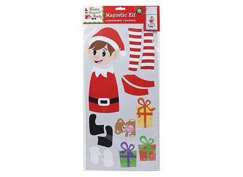 Elves Behaving Badly 17 Pce Magnetic Elf Set - Christmas Playsets - Naughty Elf Playsets