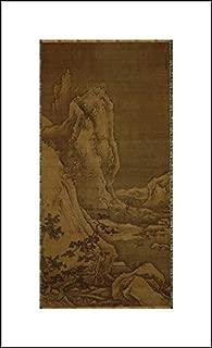 Sesshu Toyo 12x20 Art Print - Landscape of Four Seasons Winter