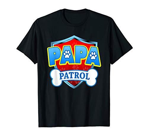 Funny PAPA Patrol - Dog Mom, Dad For Men Women T-Shirt