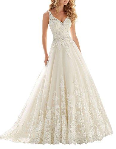 Lista de los 10 más vendidos para vestidos de bodas 2018