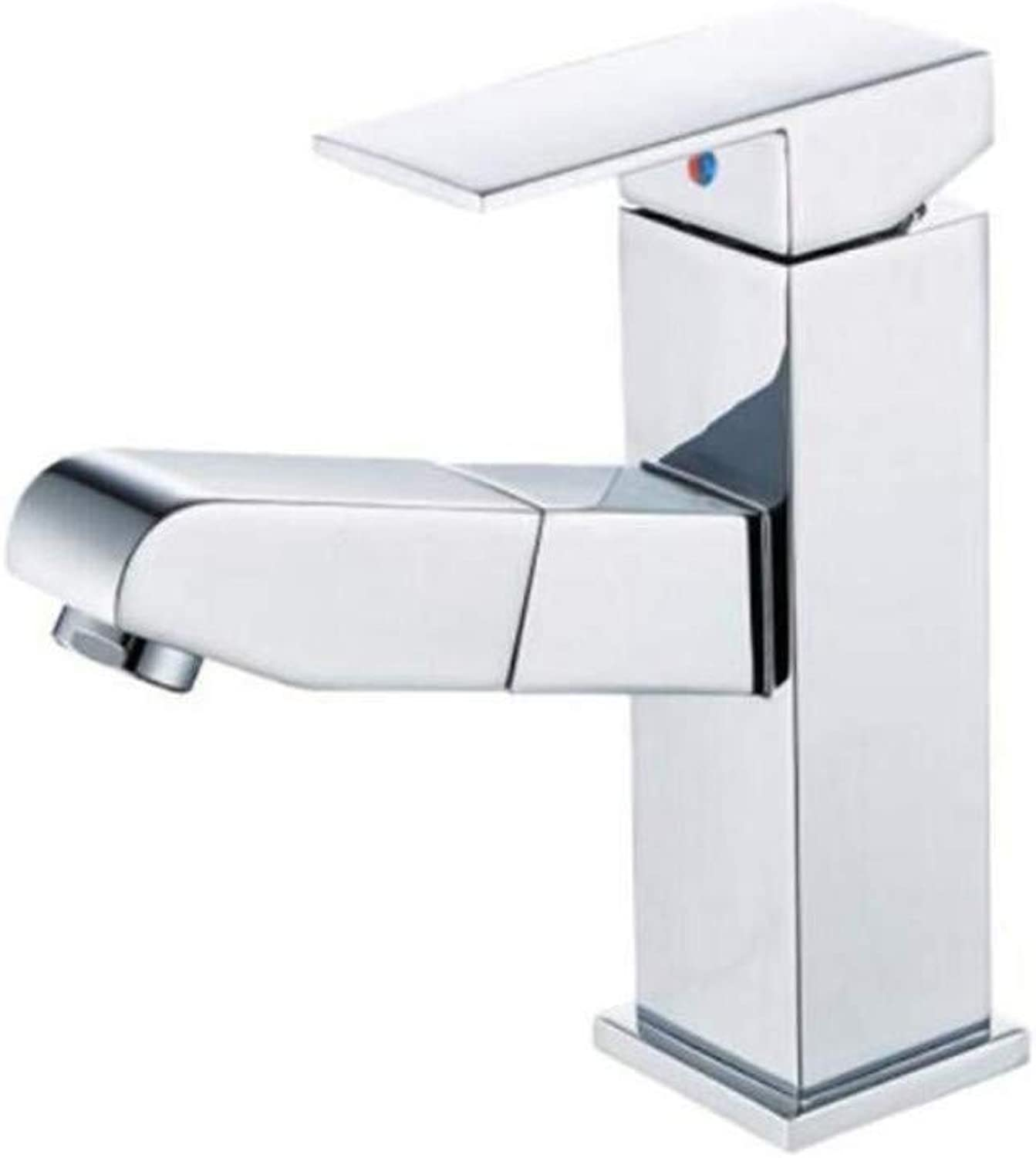 Taps Kitchen Sinktaps Mixer Swivel Faucet Sink Face Basin Faucet Cold and Hot Single Hole Pull Faucet