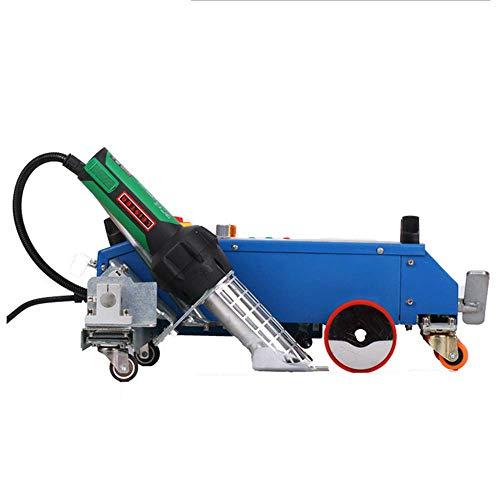 YJINGRUI Automatisches PVC-Banner Schweißgerät 3600 W TOP-3400B Leister Gebläse Heißluftschweißgerät Heißluftschweißgerät für PVC/PE/DHPE/LDPE/EVA/Plane (220 V)