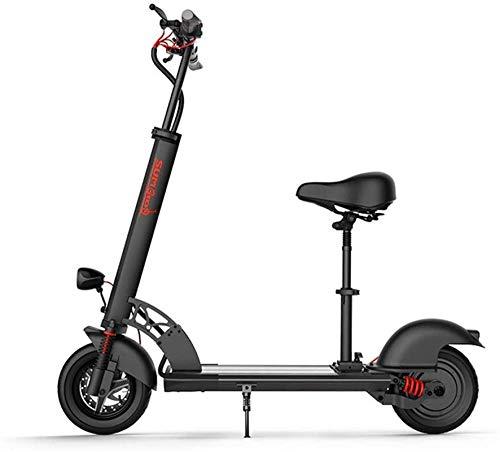 Alta velocidad Bicicletas rápidas y Eléctrica en adultos de 10 pulgadas Neumáticos 500W sin escobillas del motor Velocidad máxima 40 km / h, 100 km de largo alcance y de carga de 200kg, campo a través