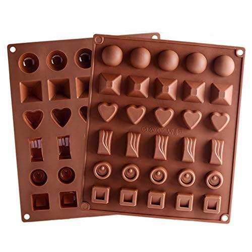 Backform Schokoladenherstellung Pralinenform f/ür S/ü/ßigkeiten Kuchendekoration Geb/äck handgefertigt 21 Einteilungen in Diamant-Form PC transparenter Kunststoff Polycarbonat Dessert