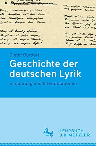Geschichte der deutschen Lyrik.: Einführung und Interpretationen