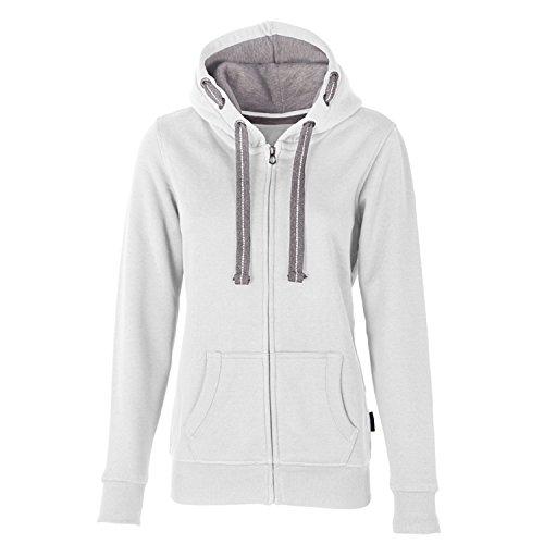 HRM Damen Jacket F Kapuzenpullover, Elfenbein (Off-White 10), Small