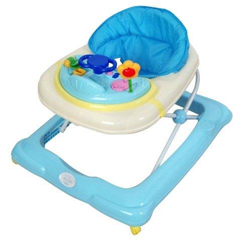 Andador para bebé, modelo osito azul (regalo zapatillas y porta biberones)