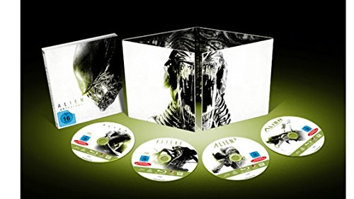 Alien Anthology 1-4 - Exklusiv Nummerierte Sonderedition (Limited Edition) - Blu-ray