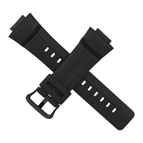 Casio Uhrenarmband G-100 G-200 G-2110 G-2300 G-2310 schwarze Schnalle