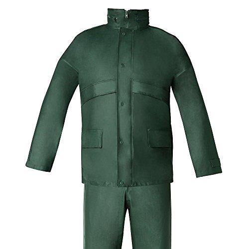 WOLFPACK LINEA PROFESIONAL 15010037 Traje de Agua Impermeable Verde Poliuretano Talla 7-L